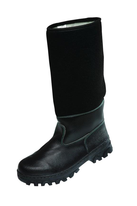 9137c1e42134 Pracovná obuv - kožafilcové čižmy
