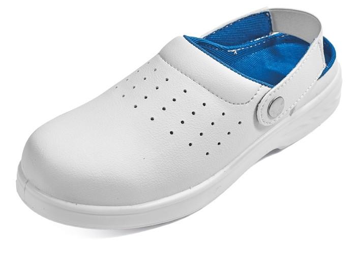 777f359ce4 Pracovná obuv - RAVEN WHITE SLIPPER SB SRC