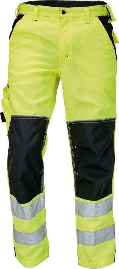 Pracovné odevy - Nohavice KNOXFIELD HI-VIS do pása