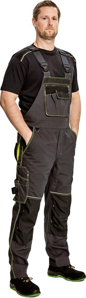 Pracovné odevy - Nohavice KNOXFIELD s náprsenkou
