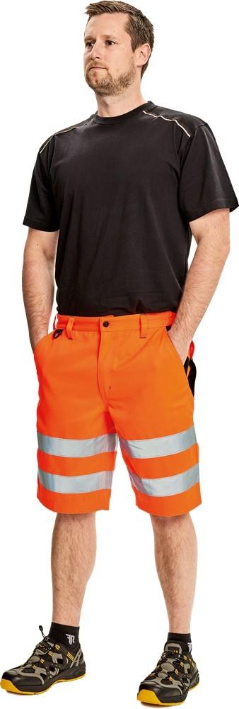Pracovné odevy - Nohavice KNOXFIELD HI-VIS krátke