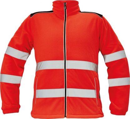 Pracovné odevy - Fleecová bunda KNOXFIELD HI-VIS