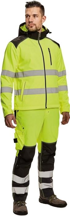 Pracovné odevy - Softshellová HI-VIS bunda KNOXFIELD