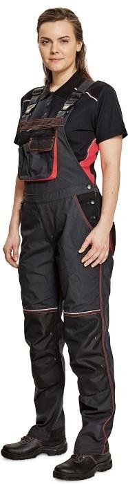 Pracovné odevy - Nohavice KNOXFIELD LADY s náprsenkou