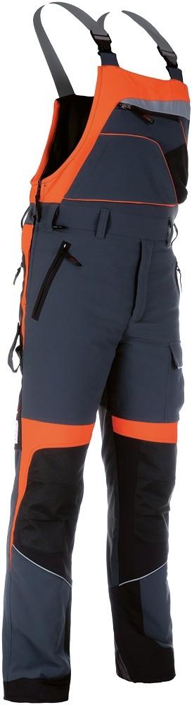 Pracovné odevy - Nohavice FOREST PROFI STRETCH s náprsenkou