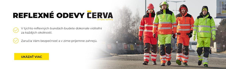 Reflexné odevy CERVA